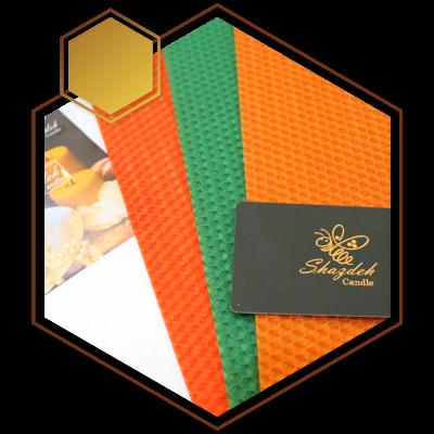 ورقه موم طبیعی در بسته های یک کیلویی