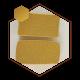 موم قالبی زرد با روغن (مخصوص شمع سازی)