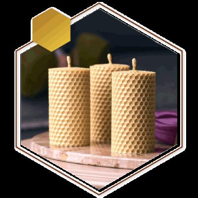 شمع طبیعی موم زنبور عسل