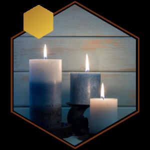 ساخت شمع طبیعی
